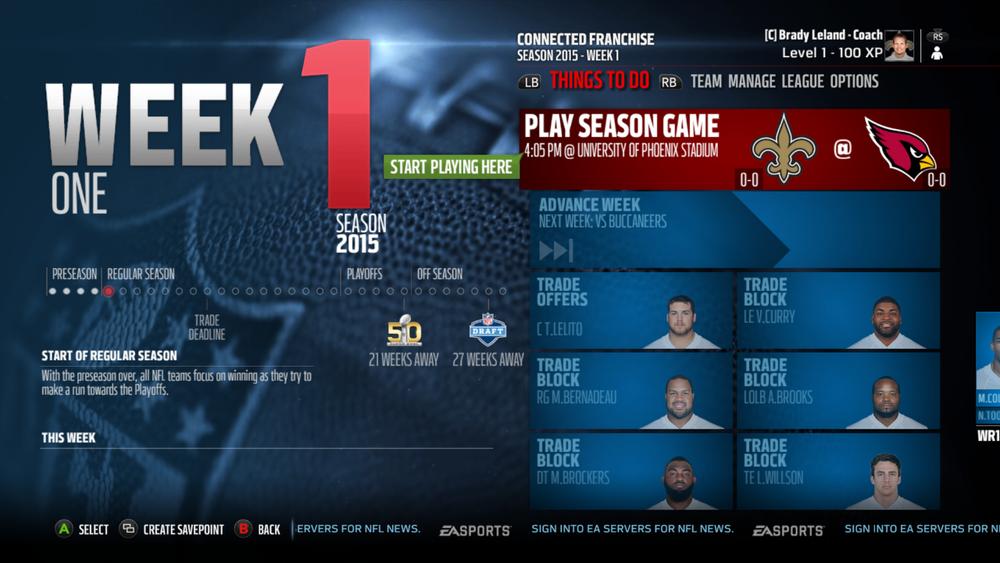 Madden NFL 16 Interface Design — Jordan R Pitts