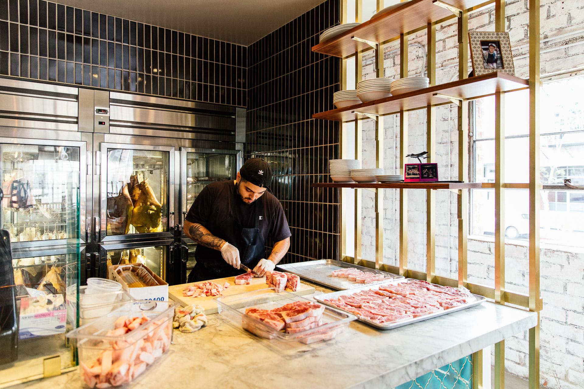 Bavel restaurant in DTLA Arts District / Award winning design by Studio Unltd / Photography by Tanveer Badal