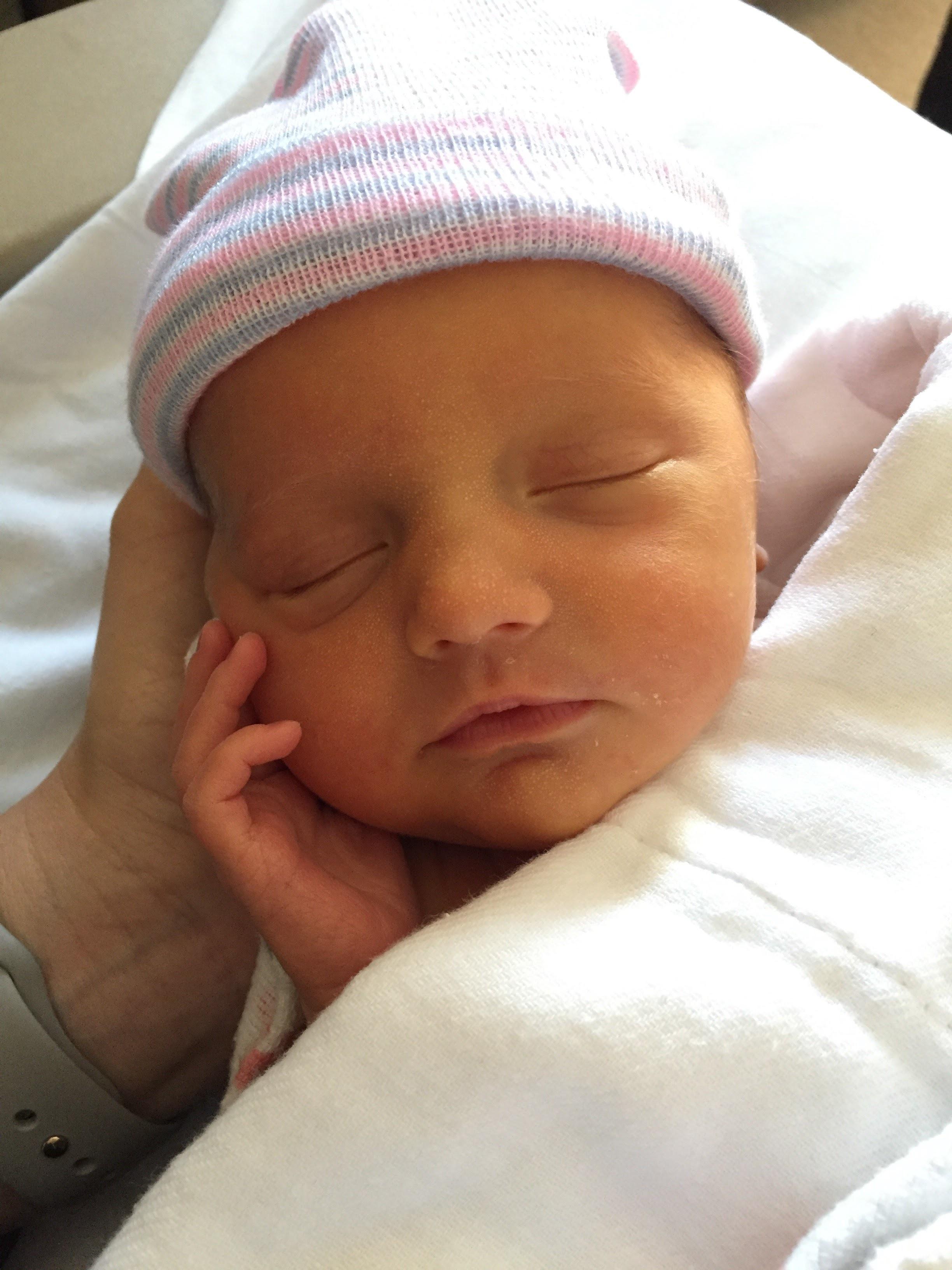 Newborn Sadie.