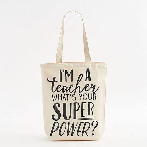 Teacher Superpower Tote