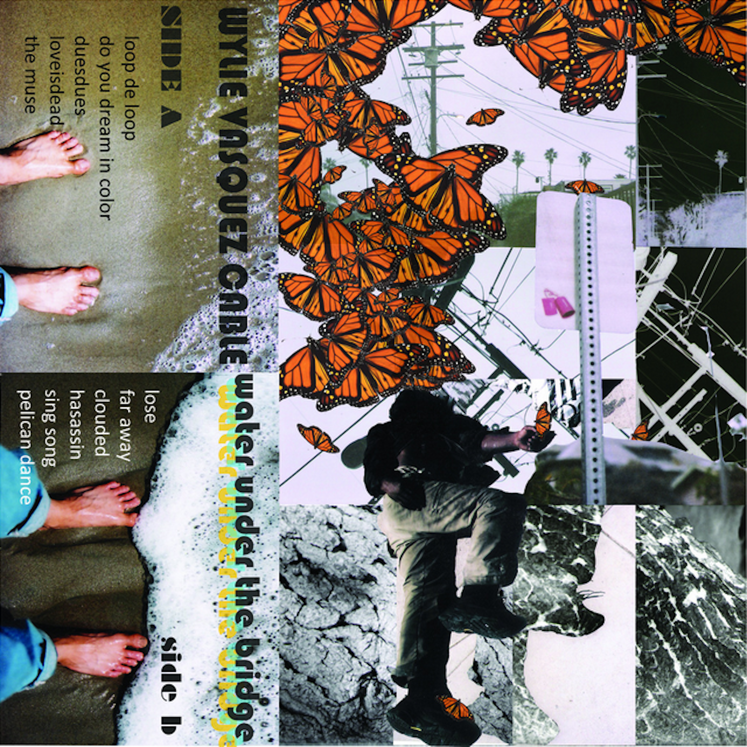 Cover Artwork Photography and Collage by Wylie Cable