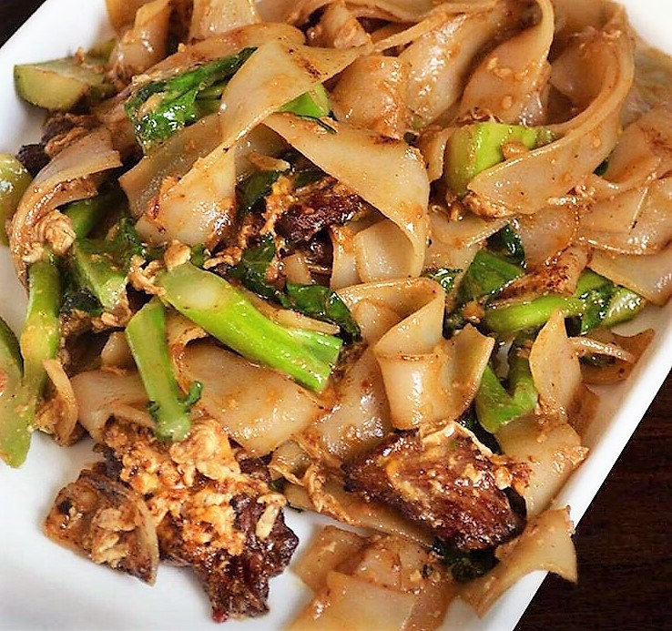 Wok-fired noodles like  Char Kway Teow  presented hot, fresh and under 5 minutes.
