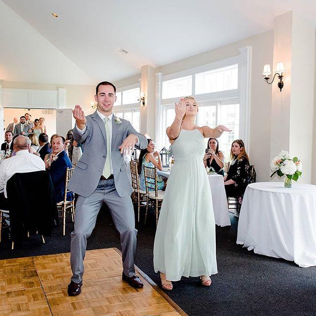 Making an entrance .... pc: @jonaleeearles . . . . . . . . . #weddings#weddingsdc#weddingsbaltimore#ajdjservices#entertainment#weddingdjs#djmobile#greatparty#uplighting#weddingvendors#dj#weddingmusic#photobooths#gobo#monogram#dancingallnight#engaged#bride#groom#newcouple#discjockey