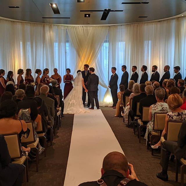Congrats Stephanie and Tyler! . . . . #weddings#weddingsdc#weddingsbaltimore#ajdjservices#entertainment#weddingdjs#djmobile#greatparty#uplighting#weddingvendors#dj#weddingmusic#photobooths#gobo#monogram#dancingallnight#engaged#bride#groom #newcouple#discjockey