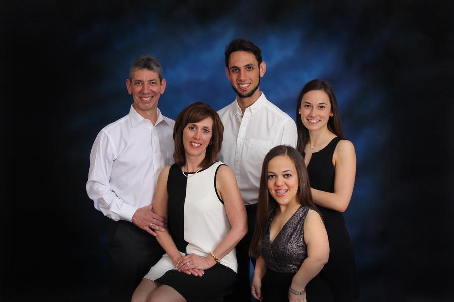 Dr. Frugé's family in Baton Rouge, LA.