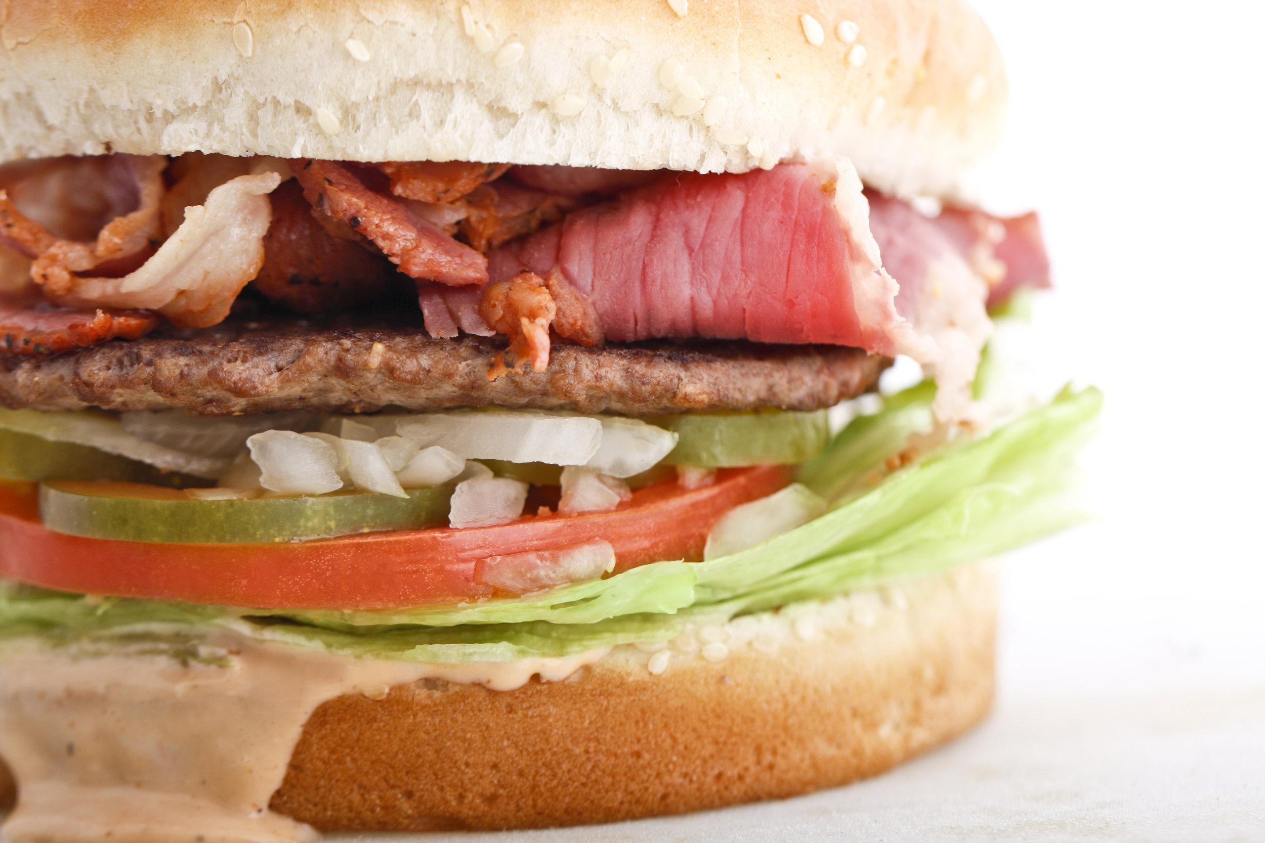 Pastrami burger.