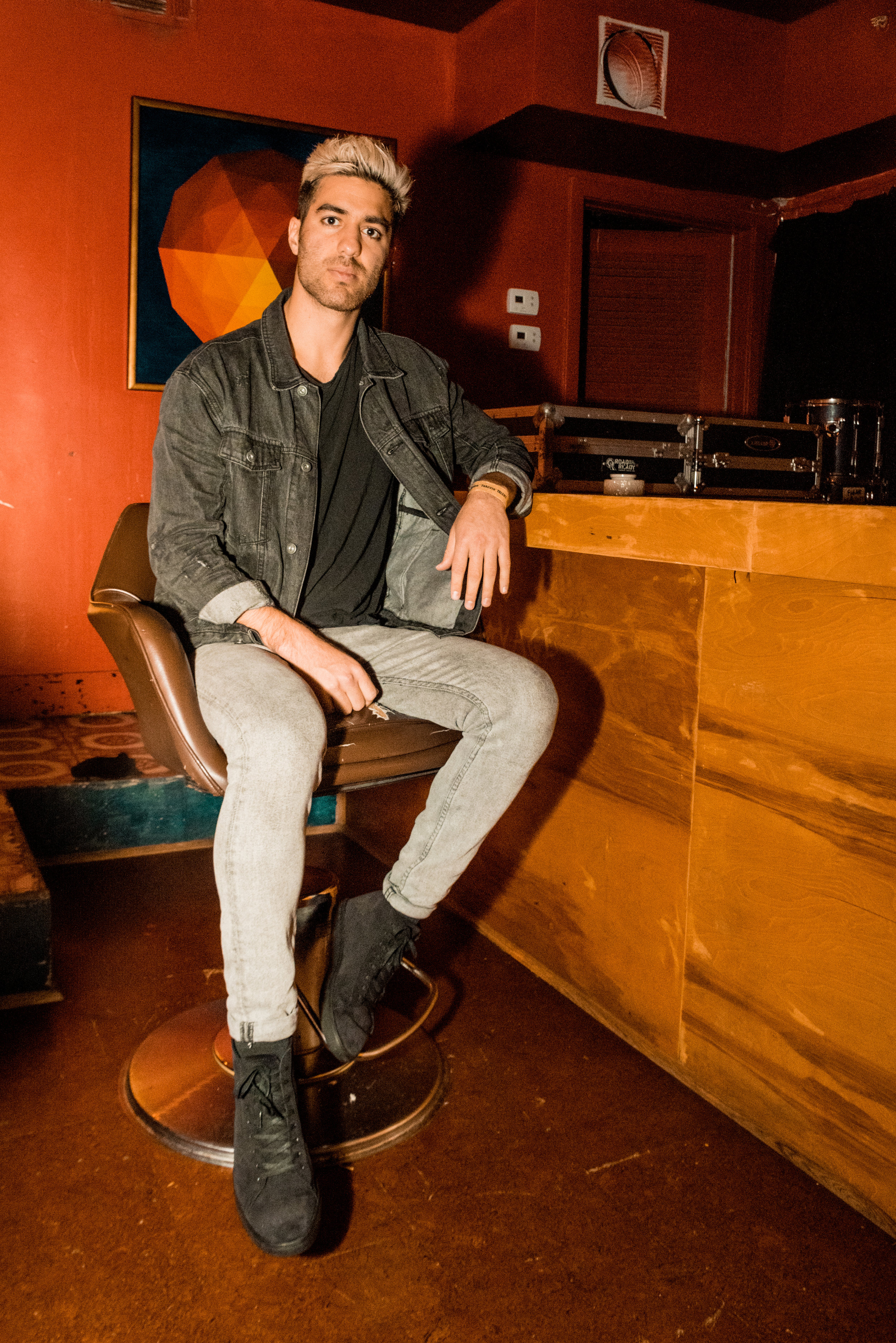 """ayokay - """"If you suppress your passions, that's not living. Just start taking steps towards what you want and eventually a path will appear for itself.""""Full Interview + Photos for Capitol Sound DC here."""