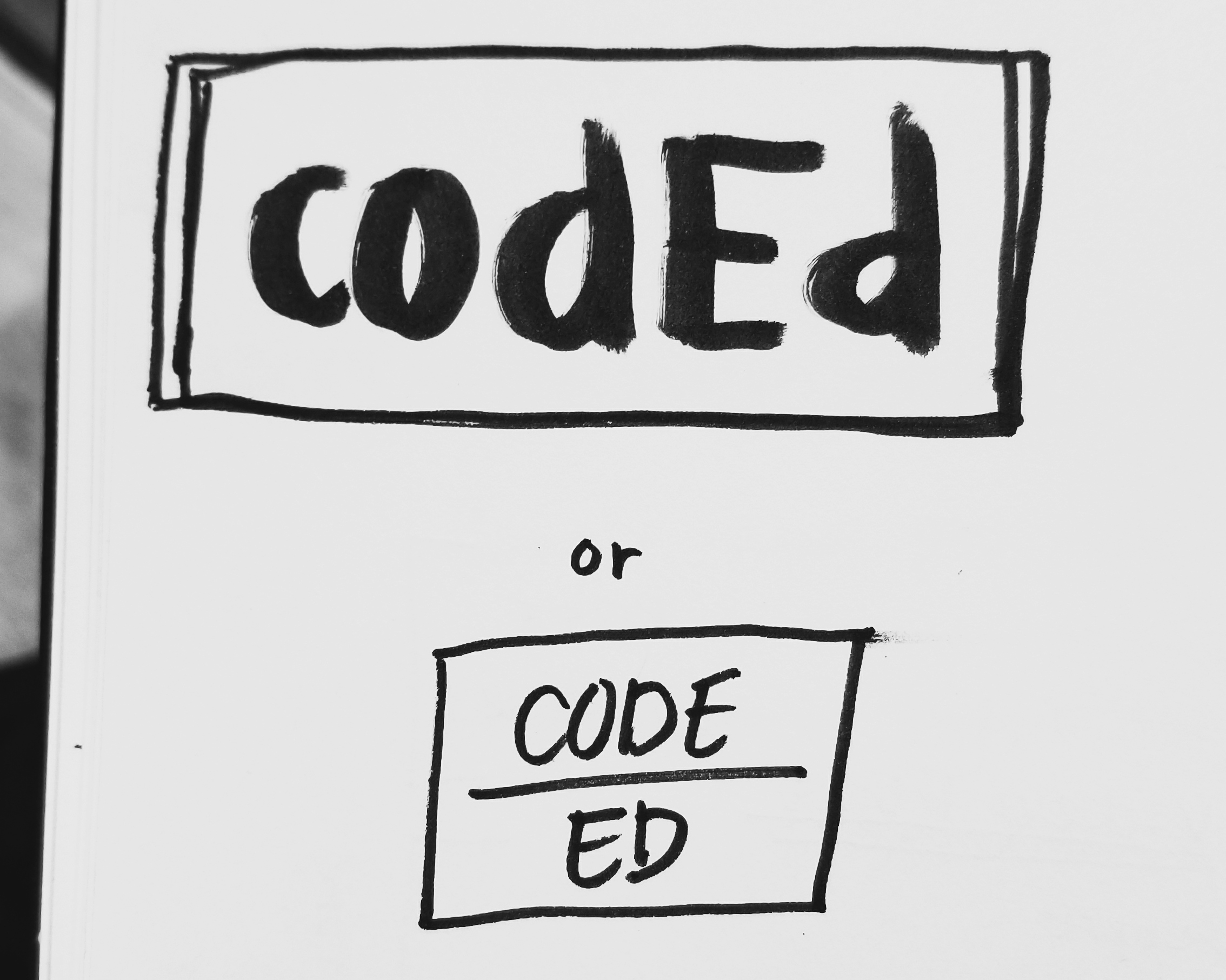 CodEd, another proposed name for the organization.