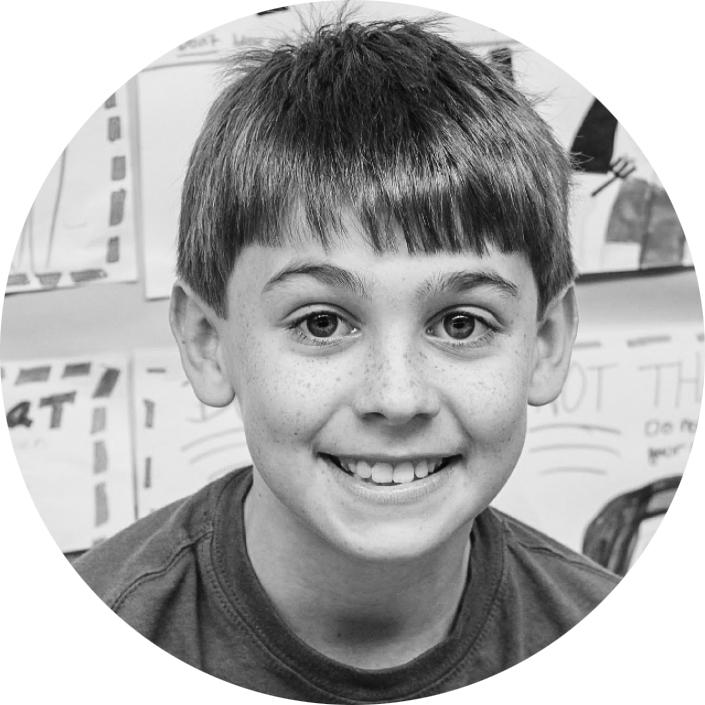 Elementary aged kid