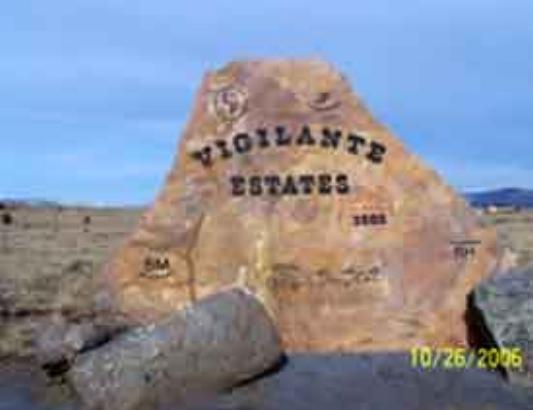 Vigilante Estates - 46 Lot Rural Residential Subdivision