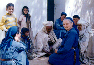 Reconciliation in the Lives of the Little Sisters of Jesus - An ethnography of Catholic religious life in situations of political violence and oppression.