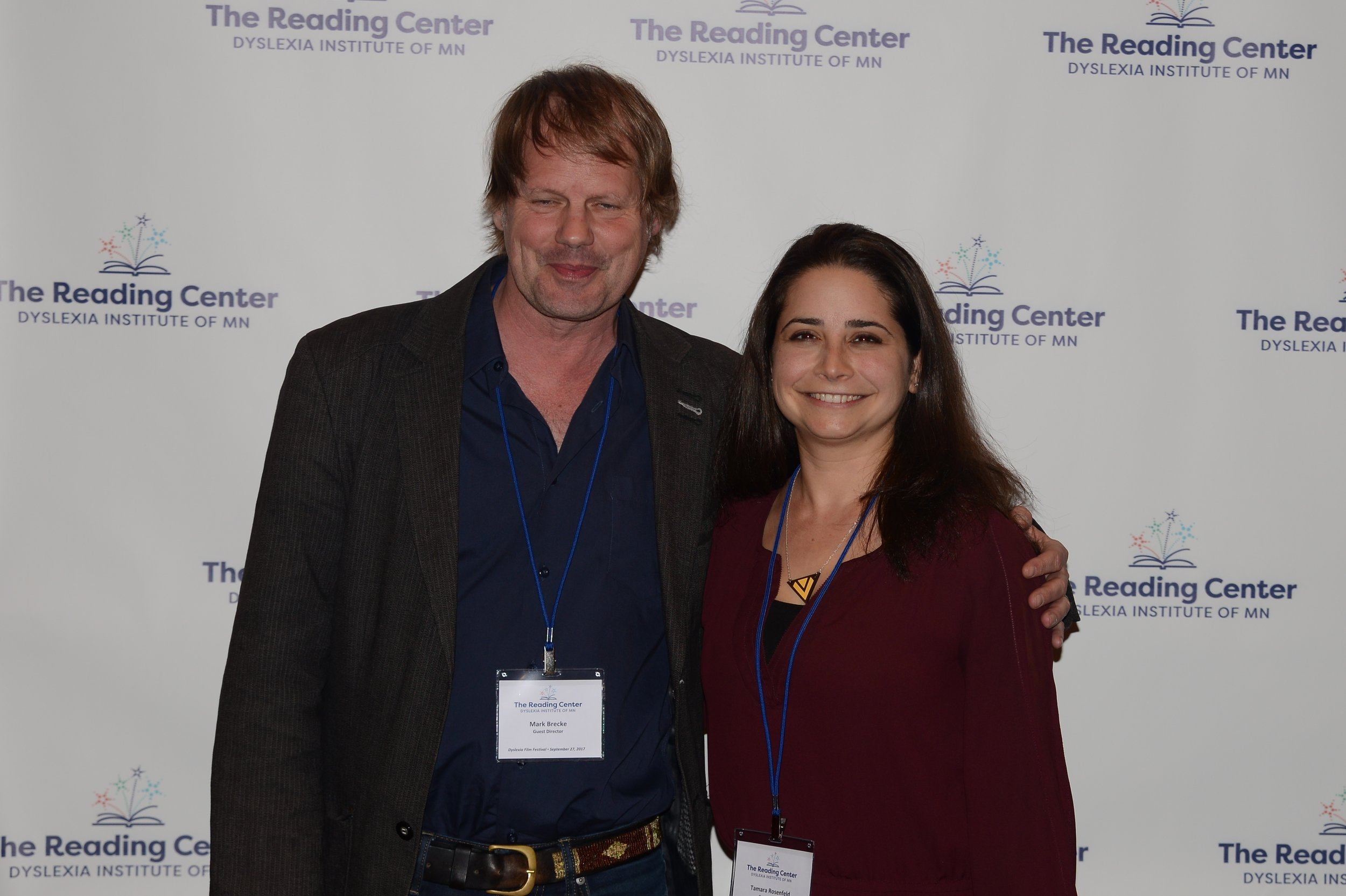 Filmmakers Mark Brecke and Tamara Rosenfeld