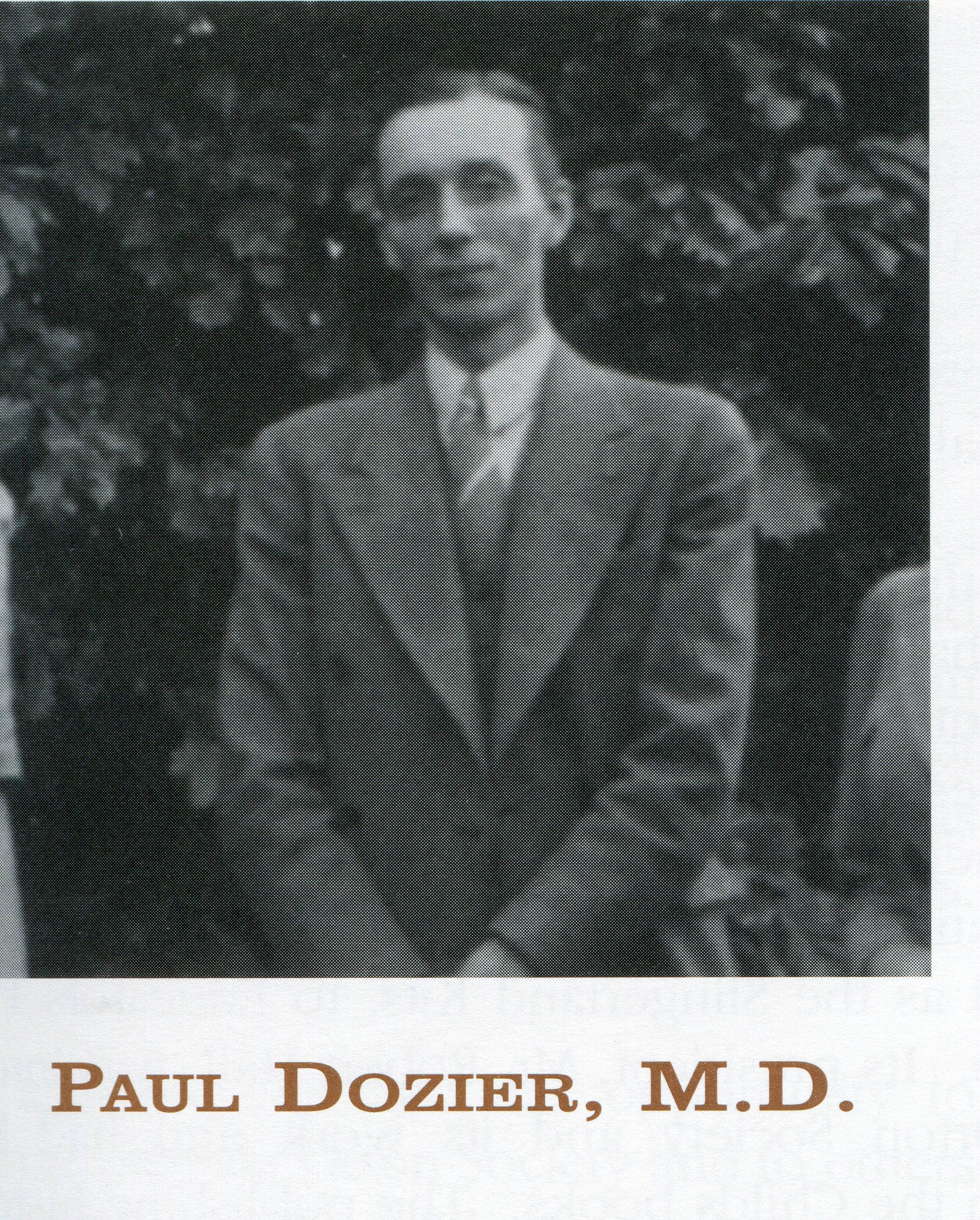 Paul Dozier, MD