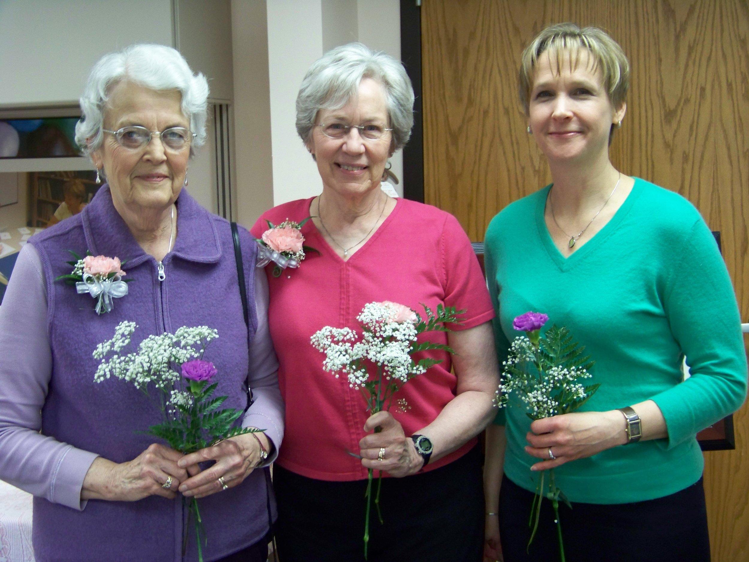 Jean Osman, Nancy Sears, Cindy Russell