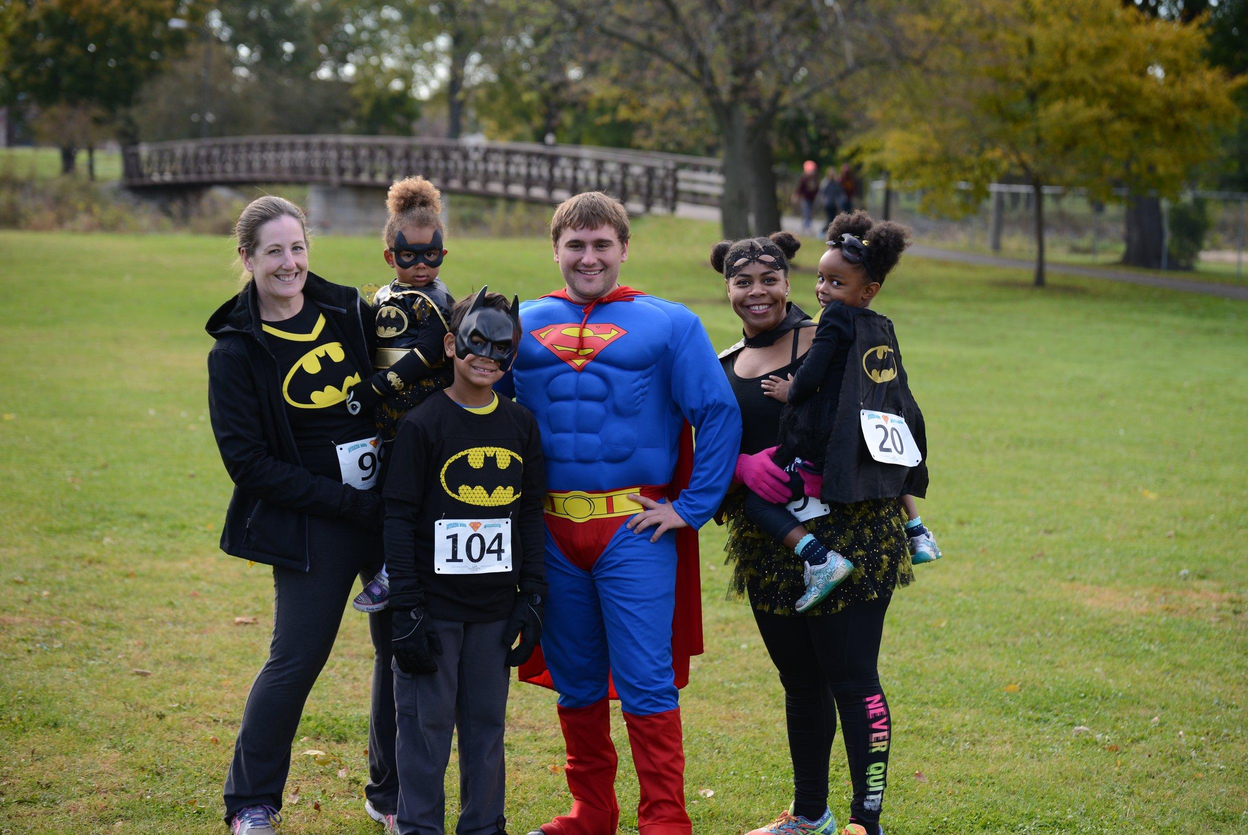 batfamily and superman.JPG