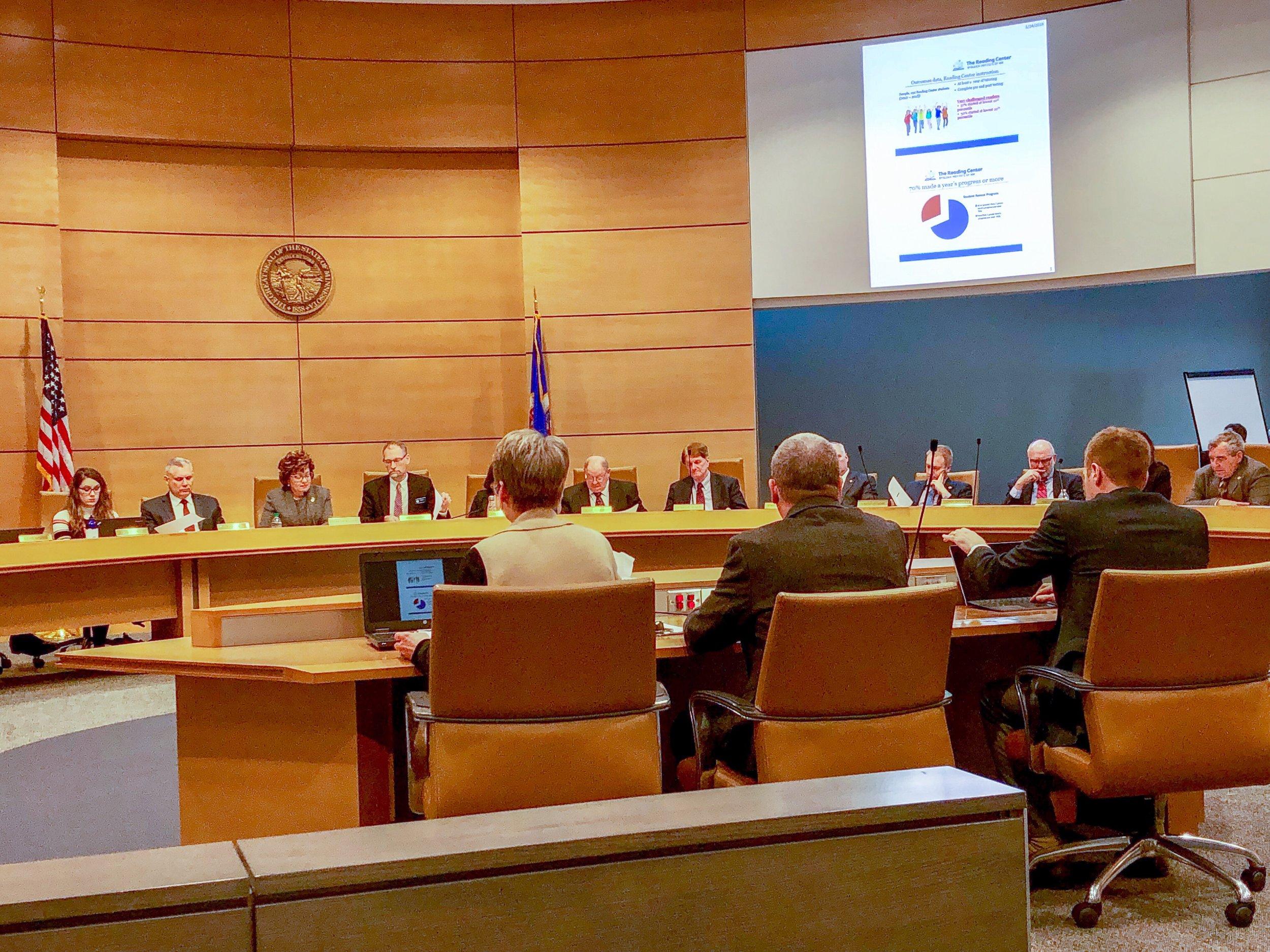 Senate E-12 Committee, January 28, 2019