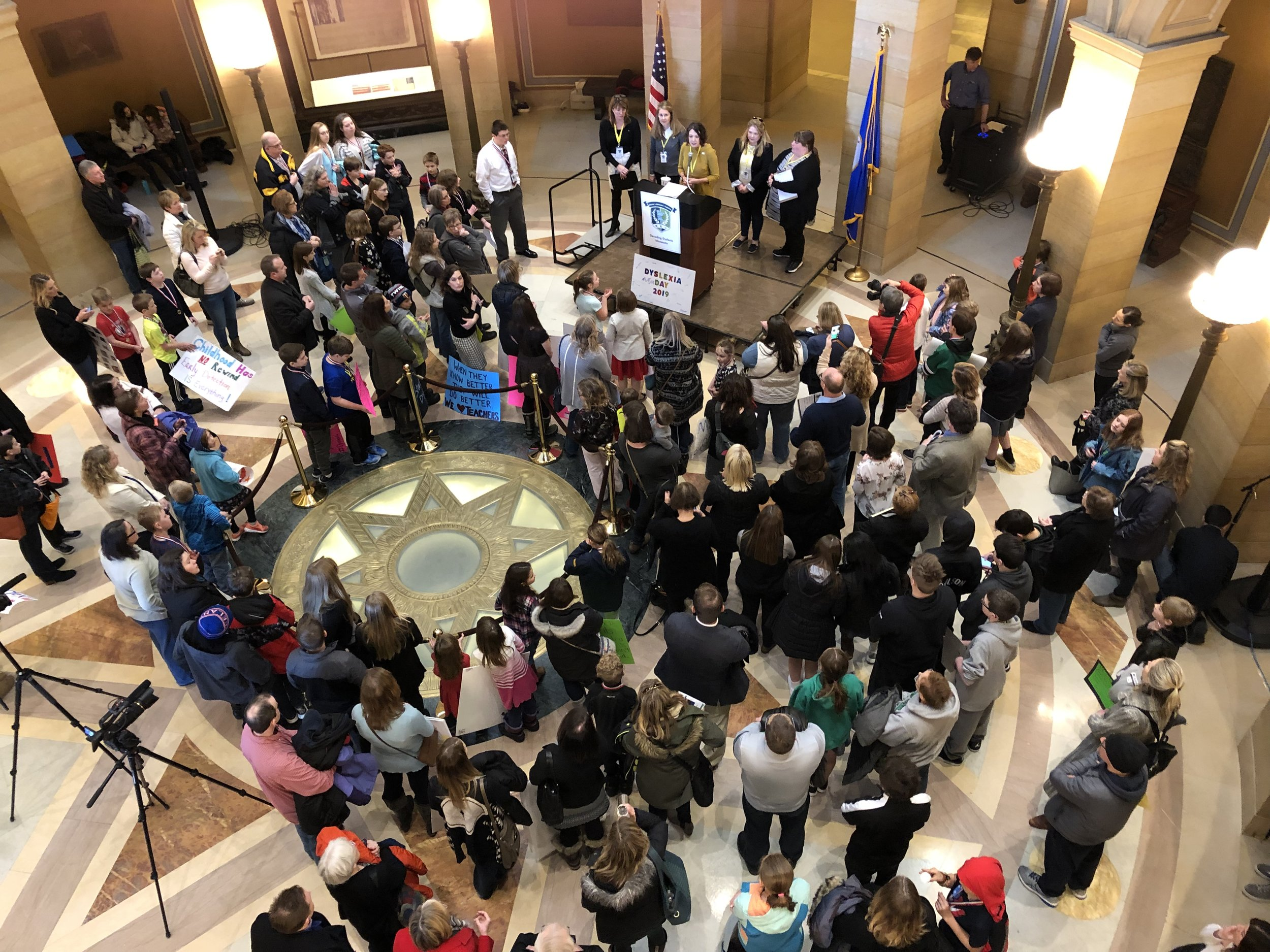 2019 Dyslexia Day on the Hill Rally in St Paul