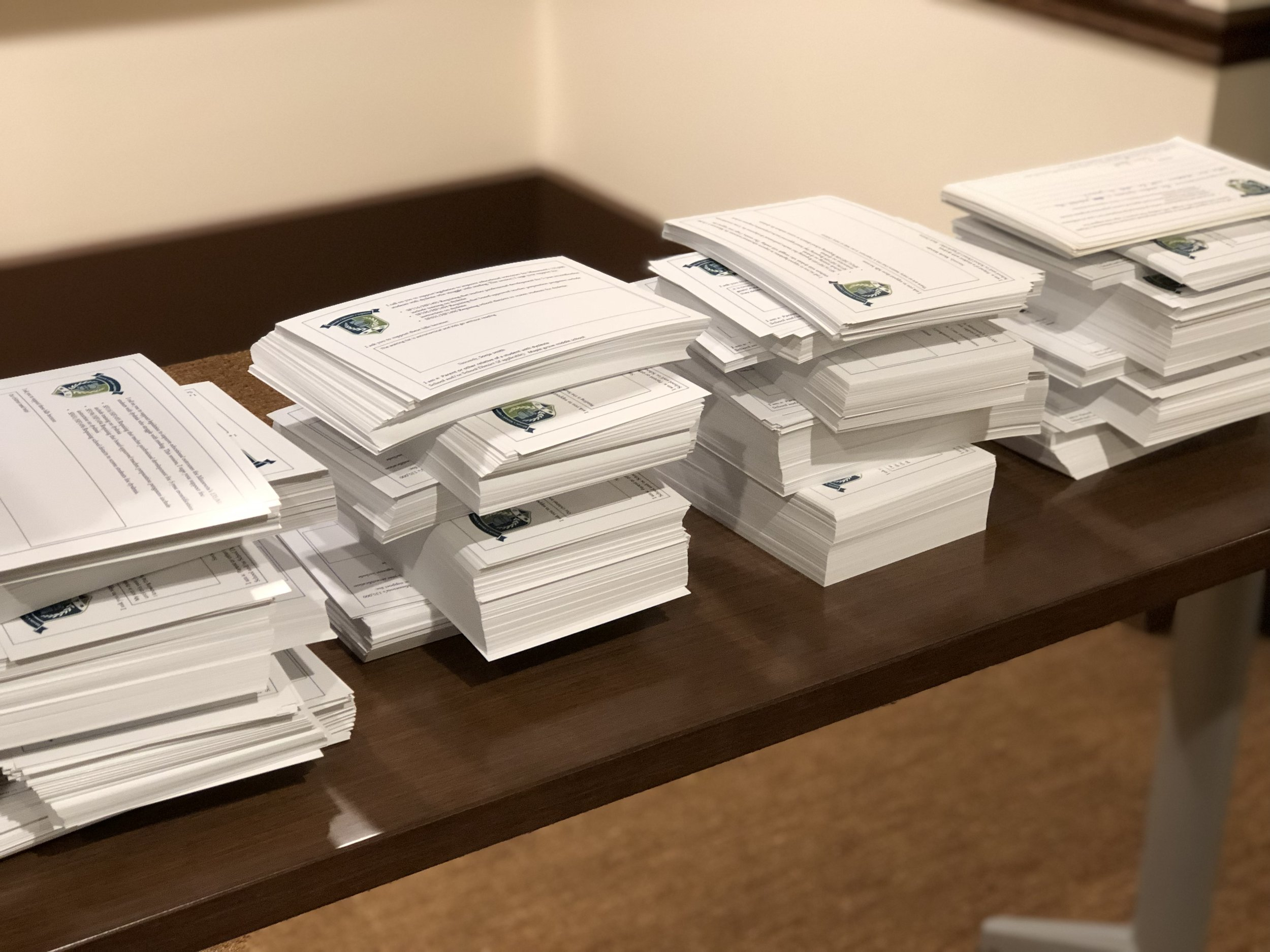 2500+ petitions shared with legislative leaders