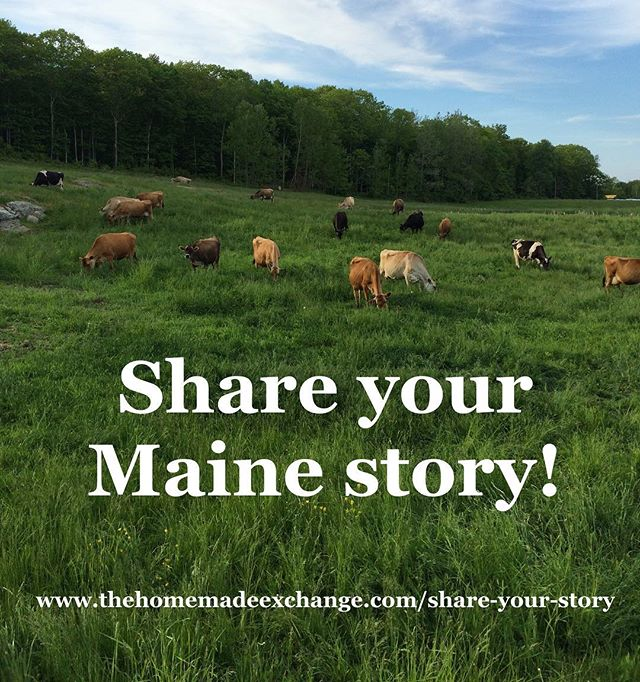 ✨✨ Exciting news: During the first half of 2018, we talked with and heard stories from 60 people!! Within these 60 conversations, we heard stories from 12 of the 16 Maine counties, and met some incredible people from far reaching corners of the state. ✨✨ On top of this exciting news, last week we moved to Madison, WI (where Juliette will begin her MFA this fall 🎉)! This means that we have transitioned away from gathering stories in-person to transcribing the interviews and compiling/crafting our book. However, if YOU have a written, drawn, or photographic reflection about your home in Maine that you can share with us digitally, we would still love to see it! Please follow the link in our bio, or email us (thehomemadeexchange@gmail.com) to share! Stay tuned for more, and we'll be sharing details soon about our December 2018 book release event that will take place in Maine! #shareyourmainestory #mainestories #thehomemadeexchange #mainetowisconsin #sociallyengagedcraft #artbook #kindlingfund