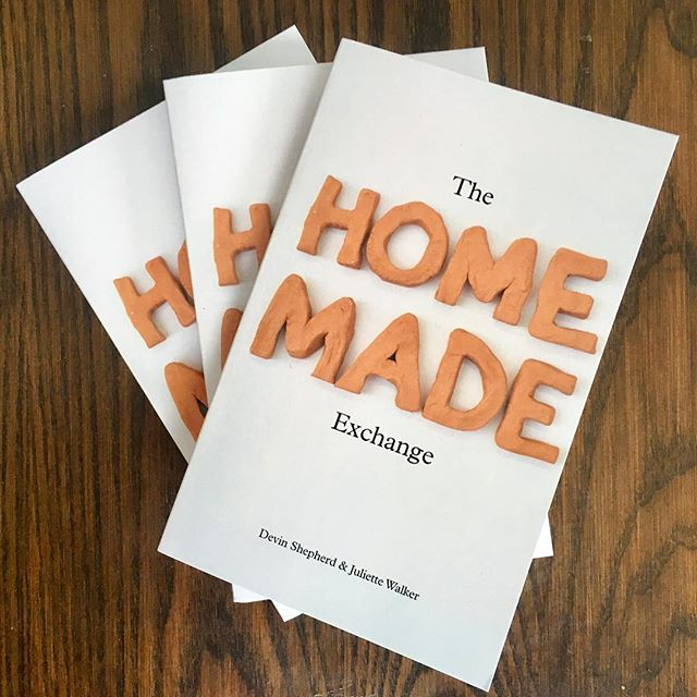 The books are available online!! Maine/Madison friends let us know if you want a copy delivered in-person, otherwise, friends elsewhere can check out the link in our profile! #thehomemadeexchange #bookrelease #bookonamazon #sociallyengagedcraft #happynewyear #happyreading