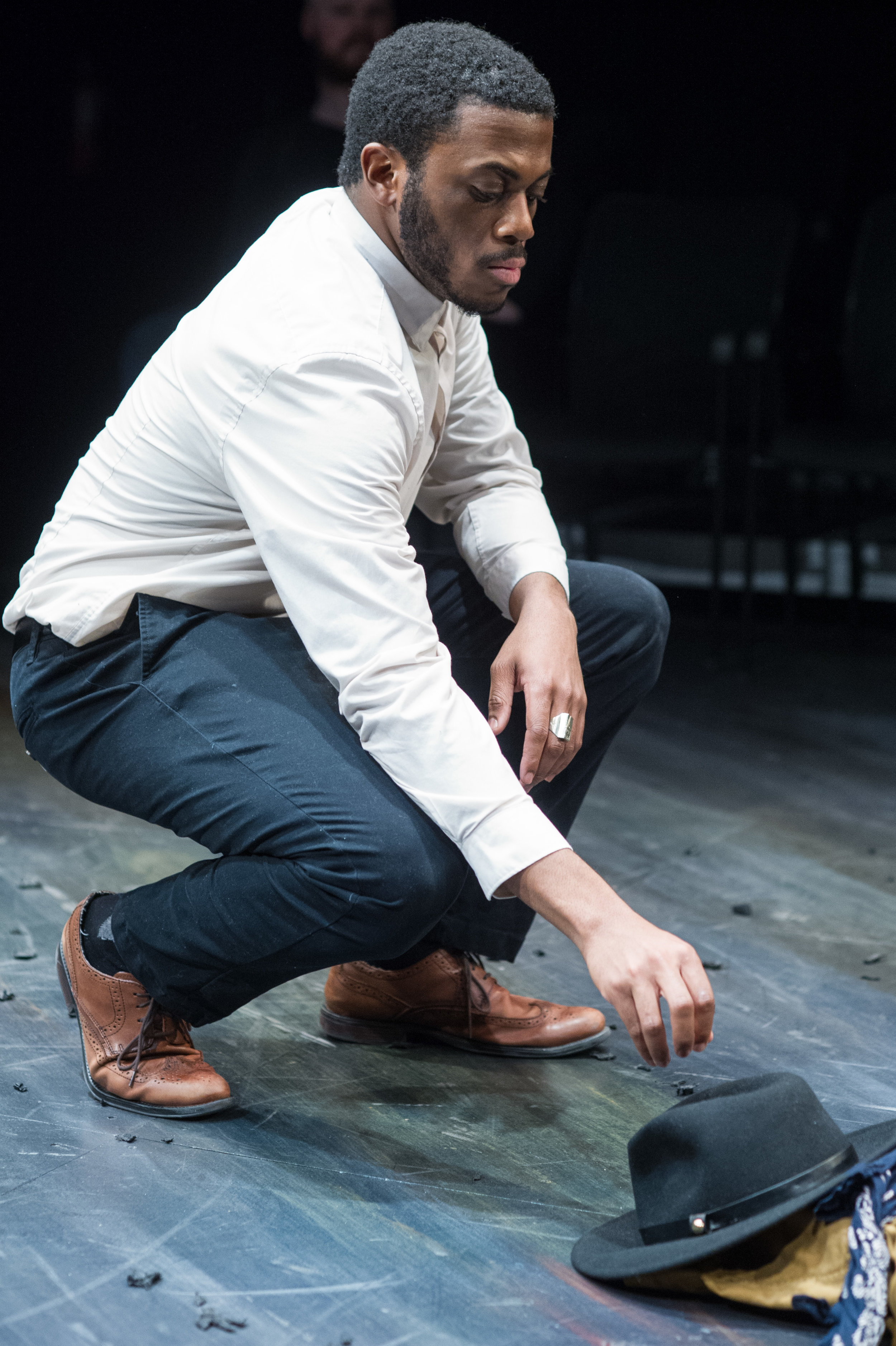 as Frederick Douglass in The Raid