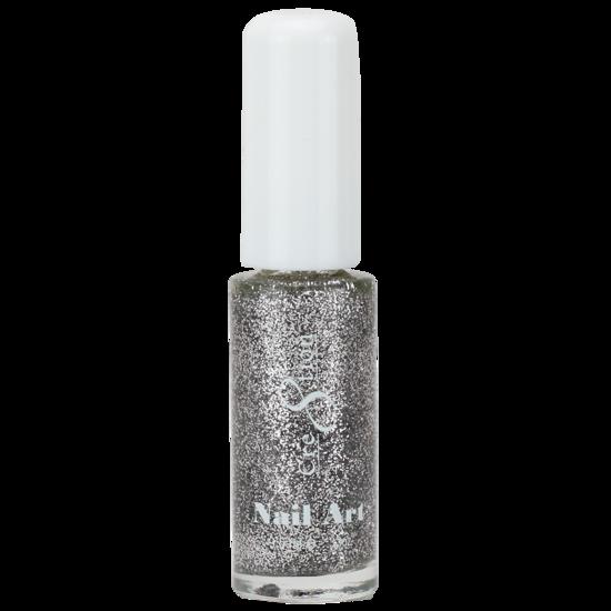 05 Silver Glitter