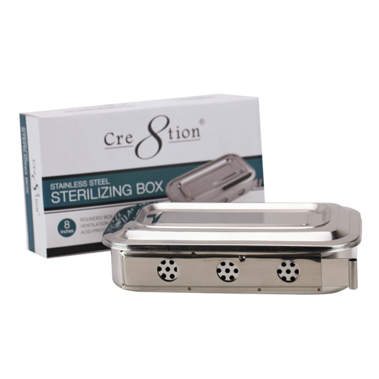 03212 - Stainless Steel #Sterilizing Box#50 pcs/case