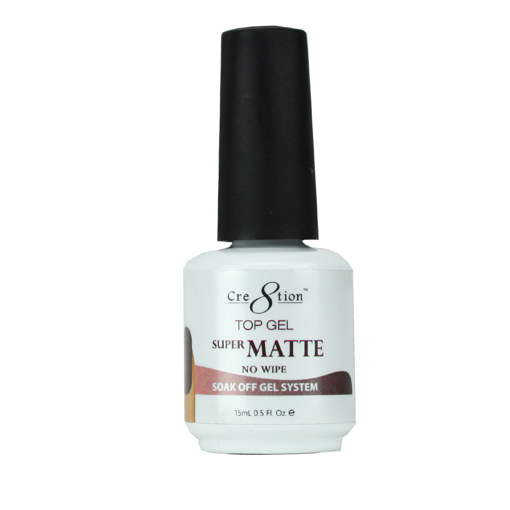 Cre8tion No Wipe Super Matte Top Gel