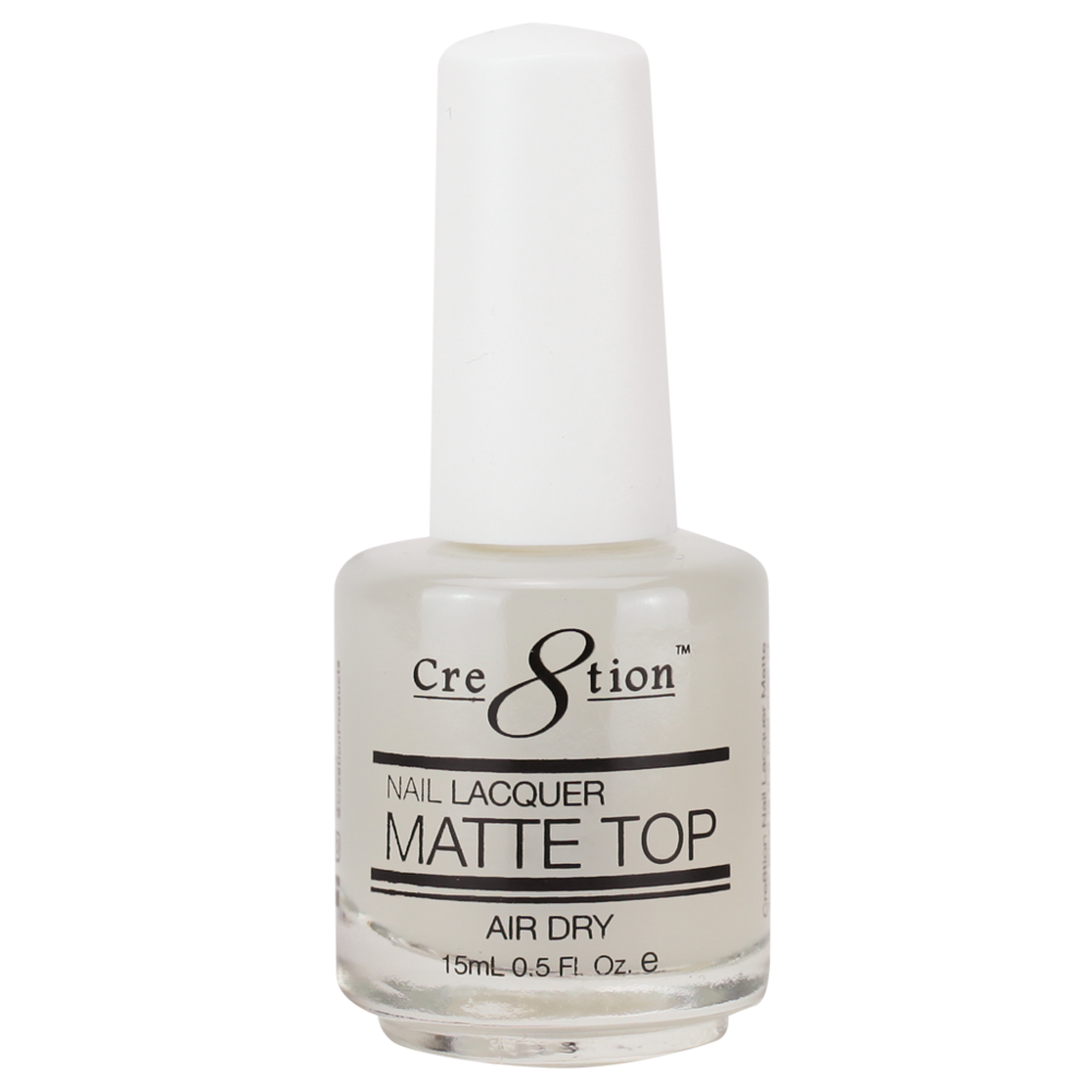 Cre8tion Nail Lacquer - Matte Top (Item 14000)