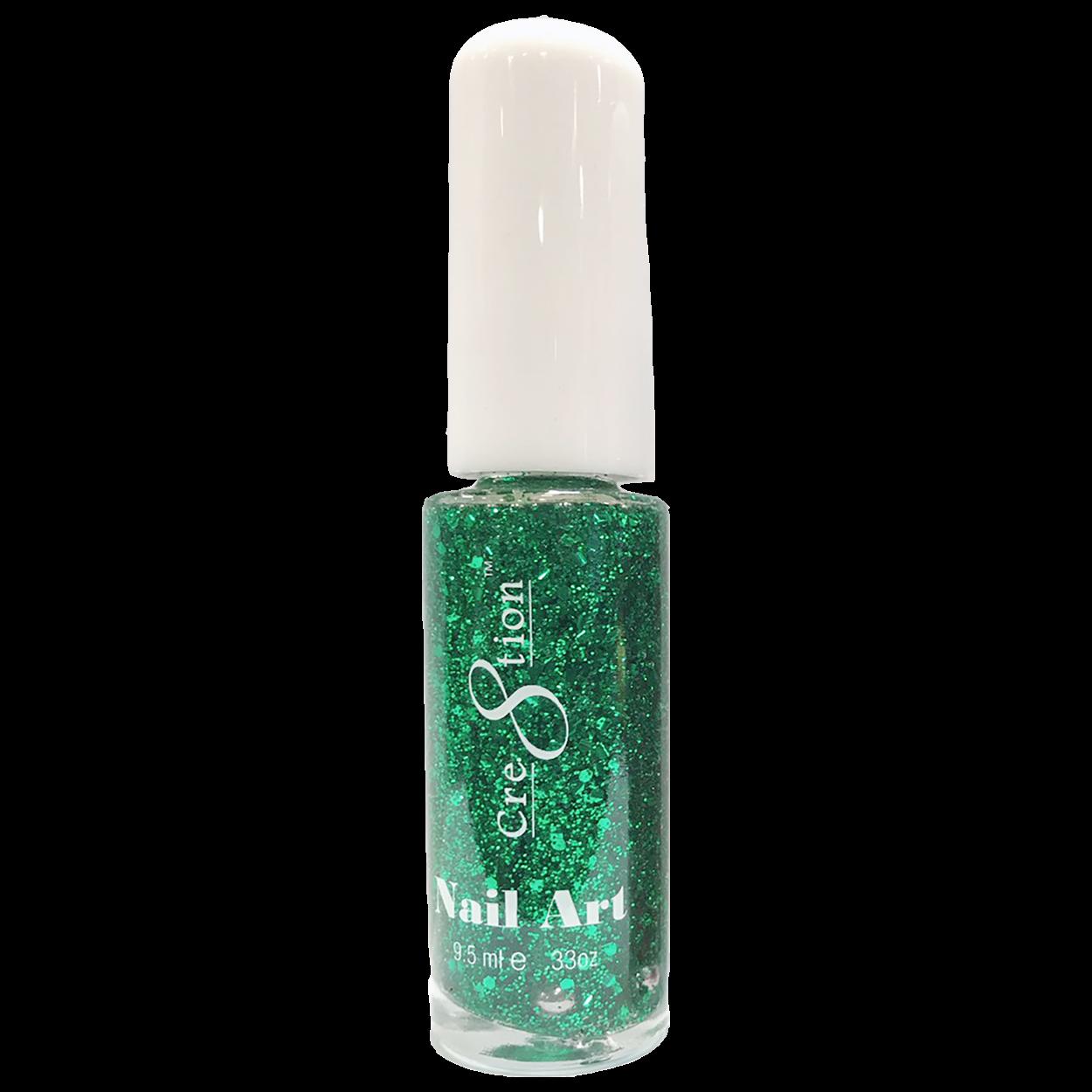 07 Green Glitter