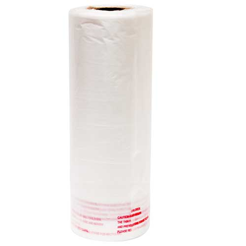 18015 - Plastic Roll #Cloudy#250 pcs/roll#6 rolls/case