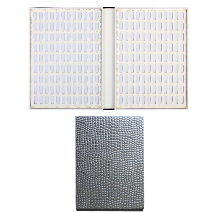 10365 - 216 colors Chart #Display book #Silver 30 pcs/case