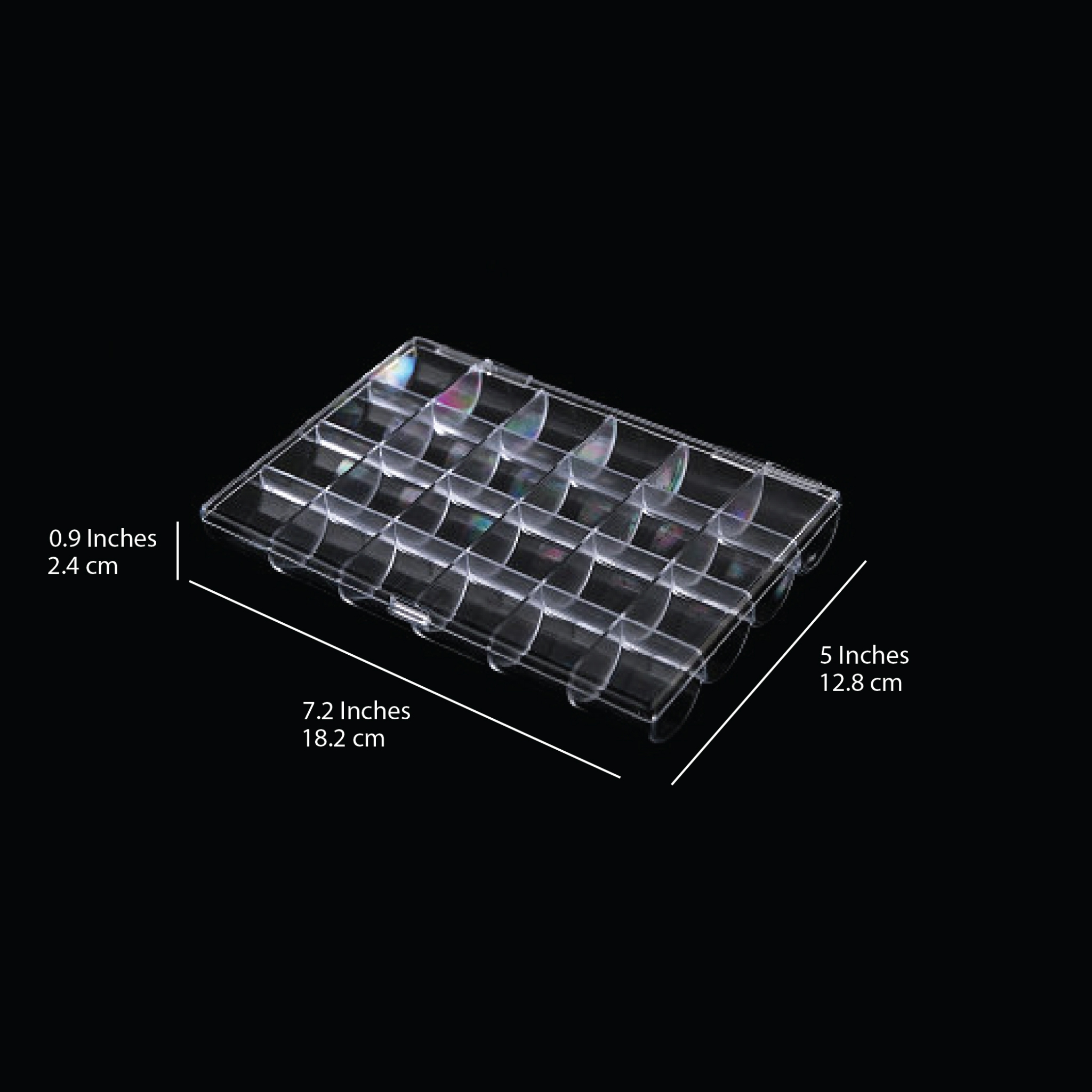 10219 - Transparent #Box 24G 100 pcs/case