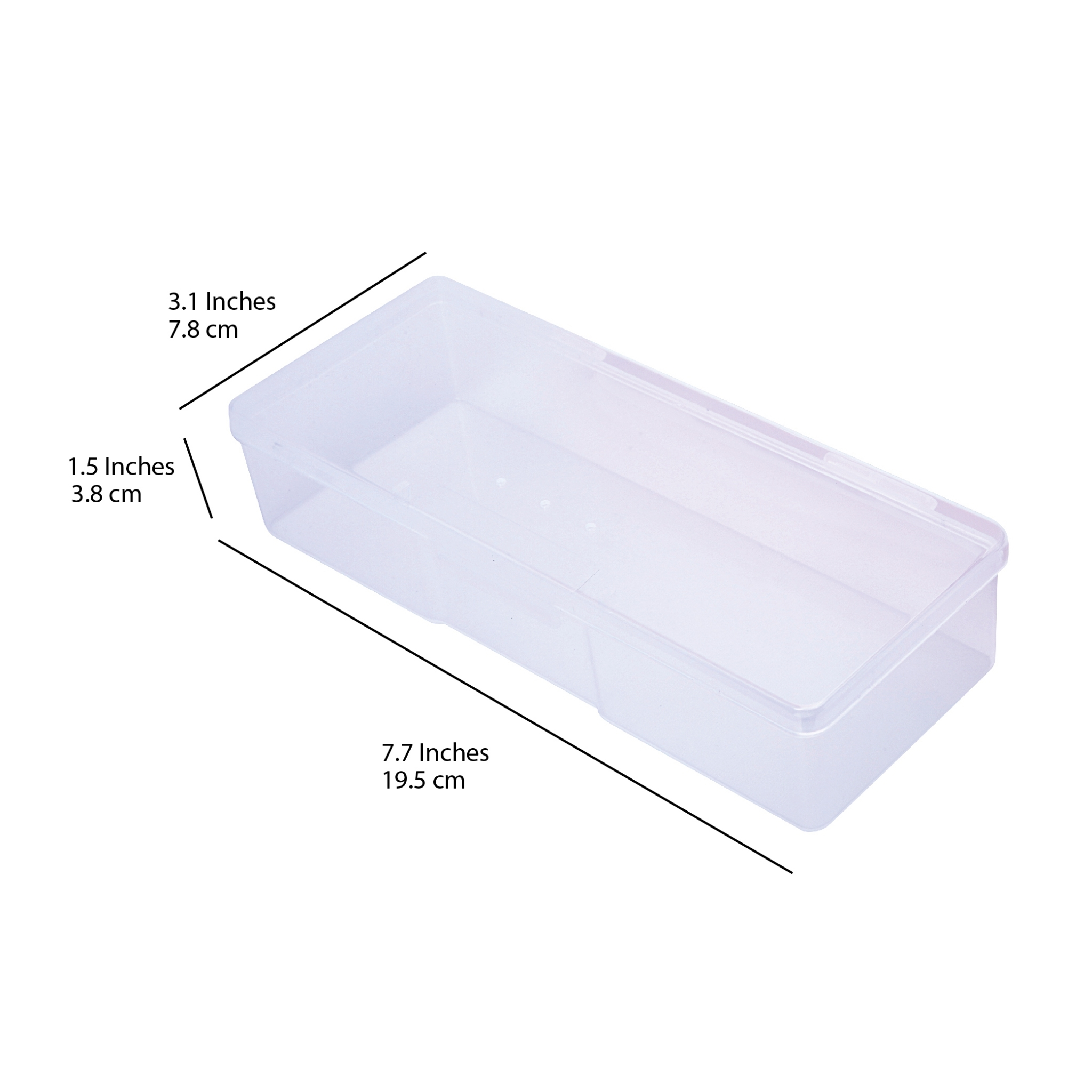 26049 - Large Personal#Storage Box#200 pcs/case