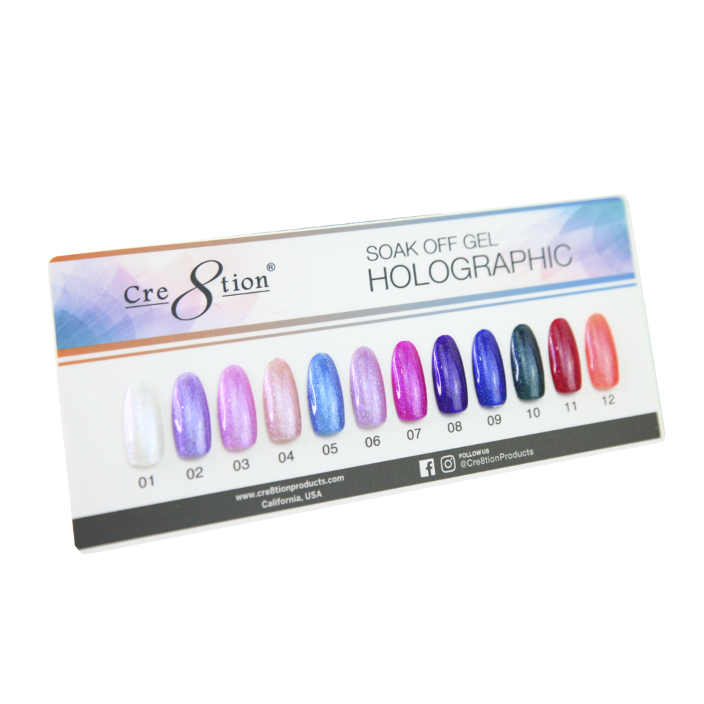 37111 - Holographic Color Chart