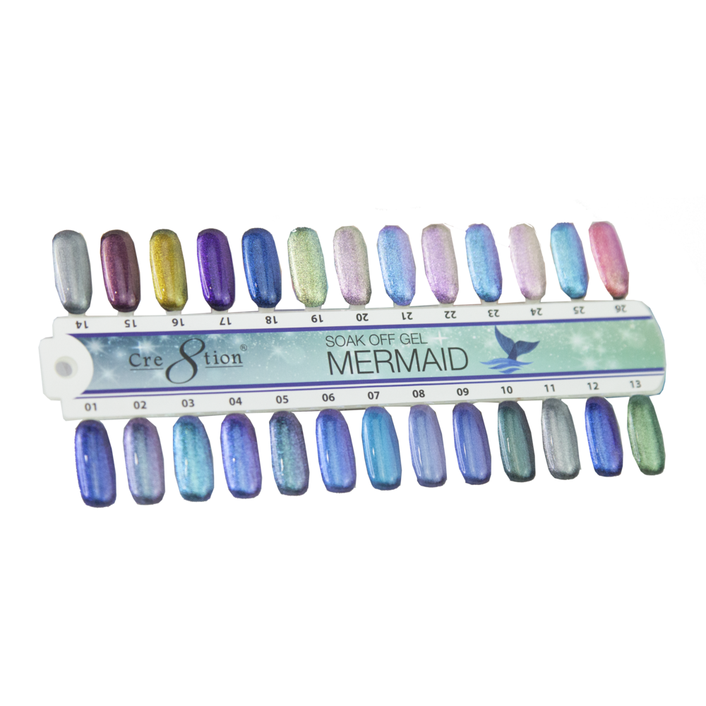37027 - Mermaid Color Chart
