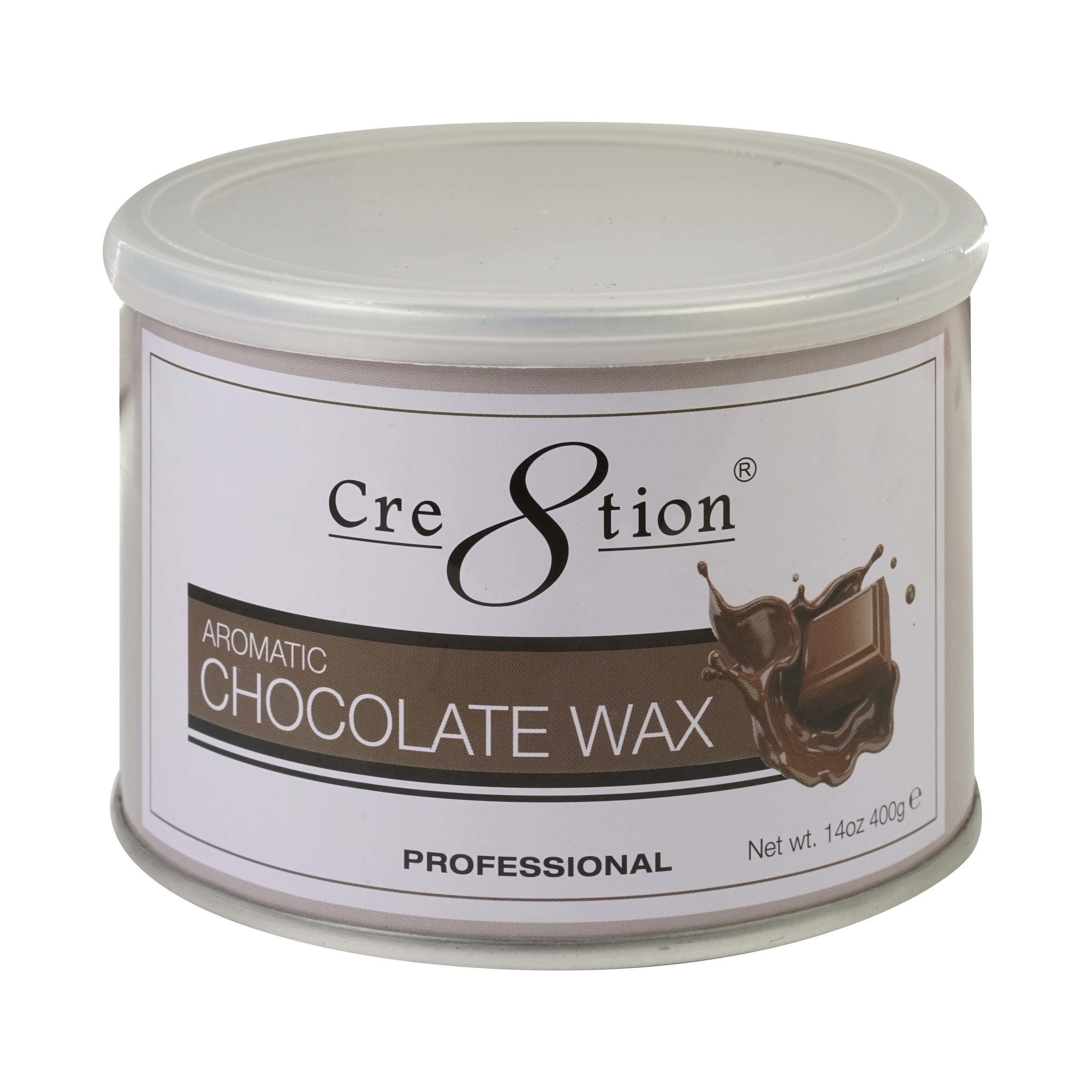 21137 - Chocolate wax  14oz 24 pcs./case, 72 cases/ pallet