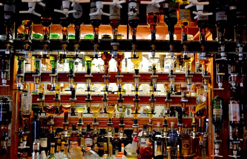 Small Selection of Single Malts at Pints Pub