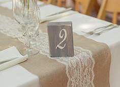 Burlap Table Runners Burlap Table Runners, $4+