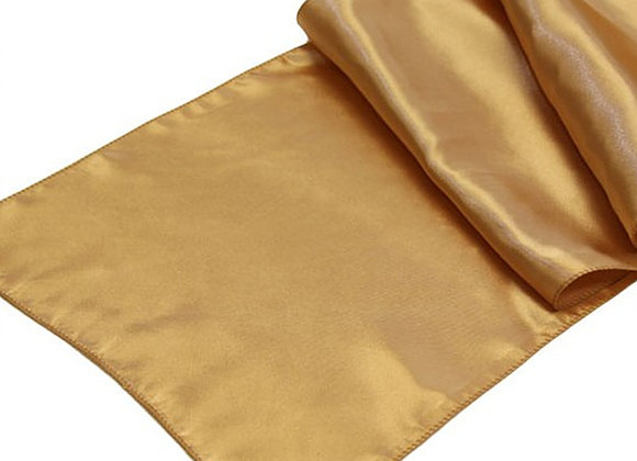 Gold Silk Table Runners, $3.50