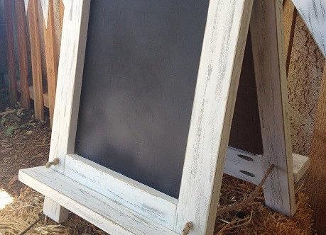 Tabletop Chalkboards, $3