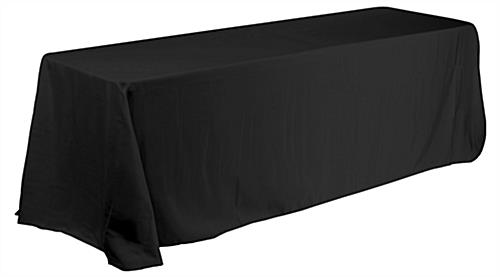 Black Oblong Table Linens, $10.00