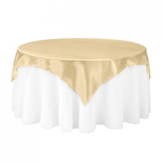 Gold Silk Table Overlay, $8.00