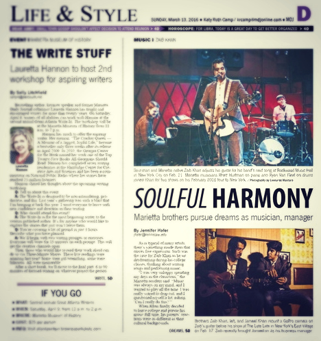 ZKM - Press - MDJ Feature - 2016-03-13 - Lifestyle Page - v1