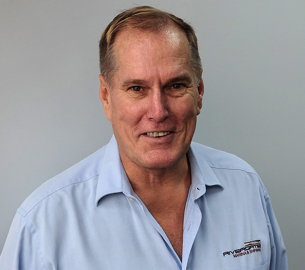 Steve Fisher, Rivergate Marina & Shipyard's Director of International Business voted to the AIMEX Board.