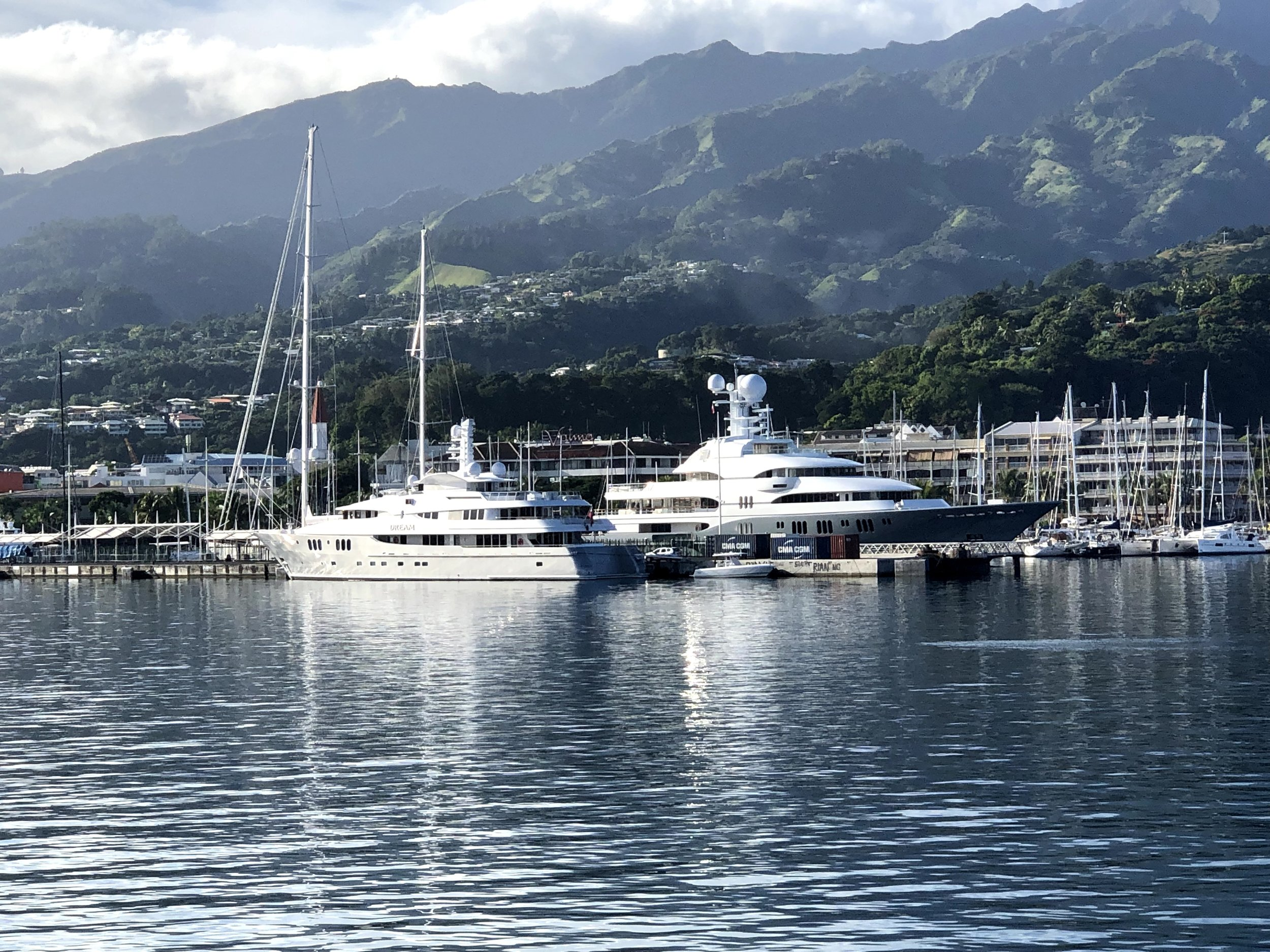 Tahiti welcomes around 50 superyachts annually. This year's event allowed the Australian contingent to view just on half that number in 2 days.