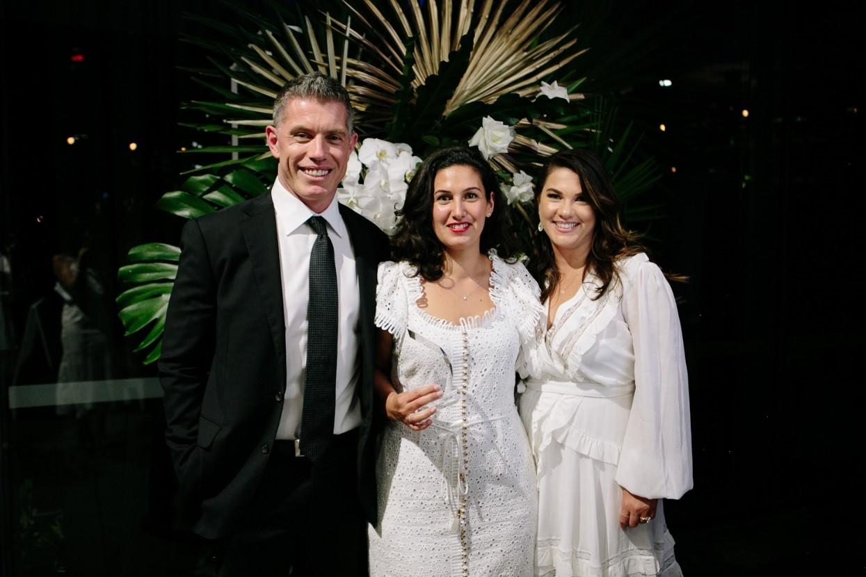 Matt Williams (PBS), Jazmin Camilleri, and Lisa Williams (PBS)