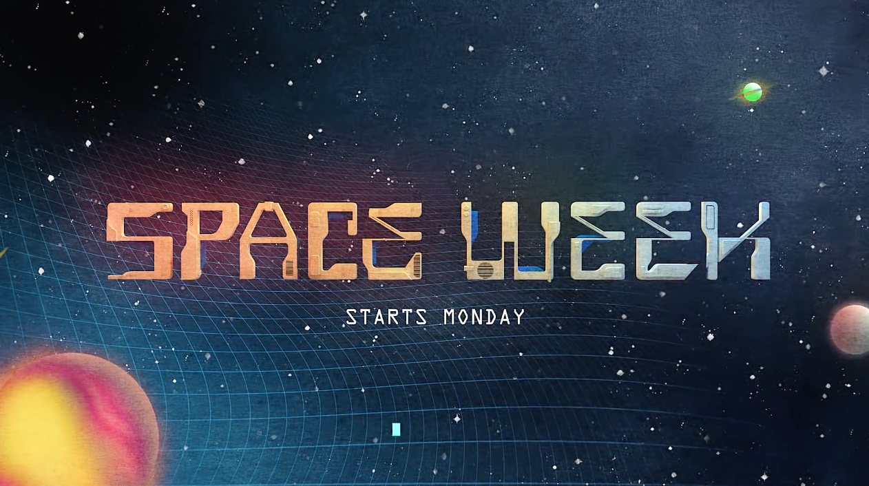 Sci-Fi: Space Week - network promo