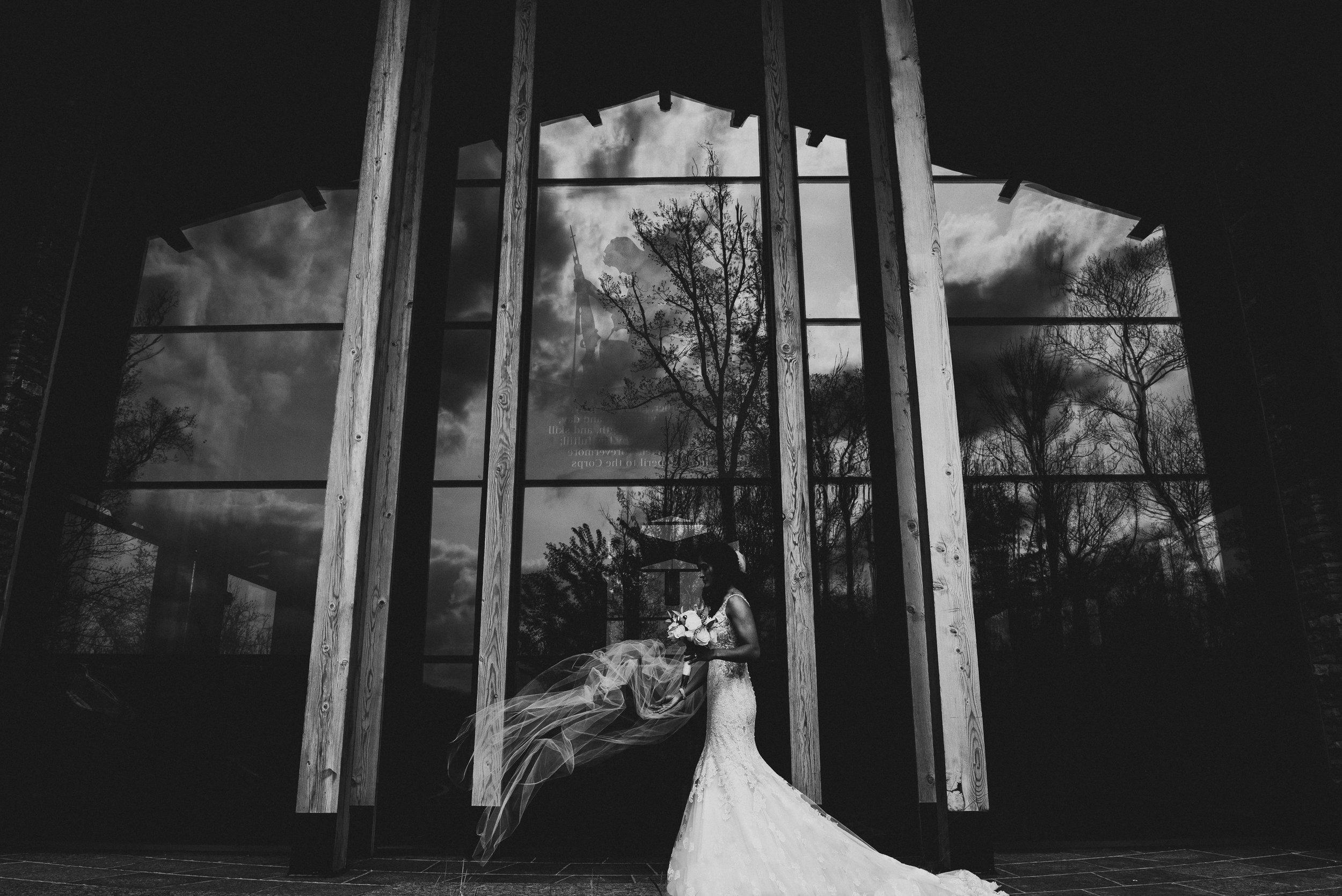 Semper Fidelis Memorial Chapel Wedding