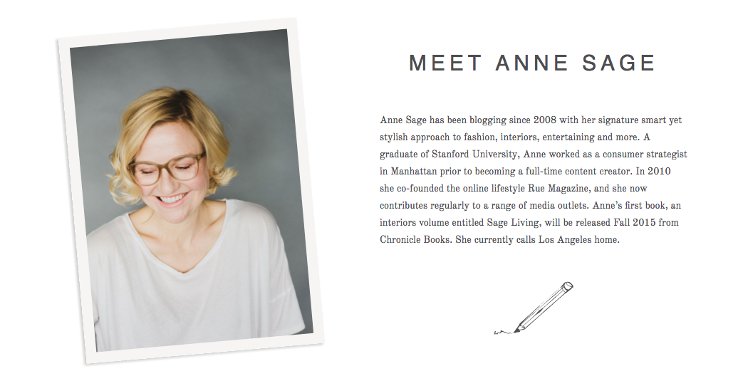 """YOUR SHADES ARE SO GORGEOUS!"" ANNE SAGE,  STYLIST AND AUTHOR OF SAGE LIVING-DECORATE FOT THE LIFE YOU WANT"